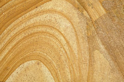 Sandstone surface. A flat sandstone surface with interesting patterns Royalty Free Stock Image