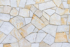 Sandstone surface in different patterns yellow brown Stock Image
