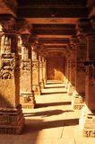 Sandstone tempel and Waterstorage Step Well of Rani ki Vav. In Patan, Gujarat, India royalty free stock image
