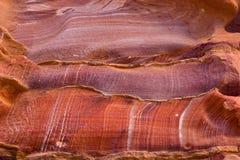 Sandstone texture. Of Petra in Jordan Stock Photos