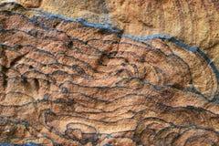 Sandstone textured background Stock Images