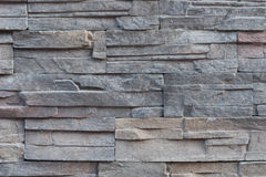 Sandstone tile background. Wall decoration with natural sandstone Stock Images