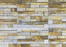 Sandstone tile wall Stock Photos