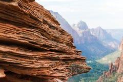 Sandstone vermelho Foto de Stock Royalty Free