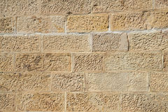 Sandstone wall. Close up of sandstone wall background stock photos