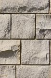 Sandstone wall. Closeup of sandstone wall with mortar royalty free stock image