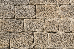 Sandstone wall background Royalty Free Stock Images