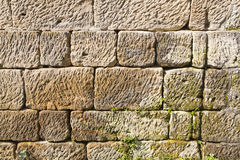 Sandstone wall background Stock Image