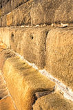 Sandstone Wall,Sea Defence Stock Images