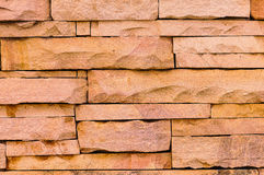 Sandstone wall surface Royalty Free Stock Photos