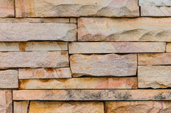 Sandstone wall surface Stock Images