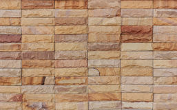 The sandstone walls. Stock Photos