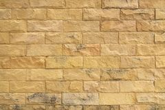 Free Sandstone Yellow Wall Texture For Background Stock Photos - 163743203