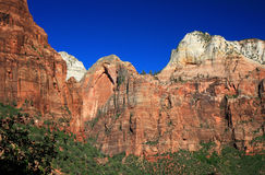 Sandstone in Zion NP Royalty Free Stock Images