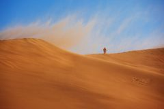Sandstorm Royalty Free Stock Photo
