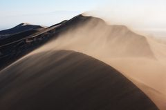 Sandstorm Royalty Free Stock Images