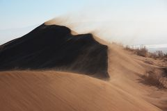 Sandstorm Royalty Free Stock Photos
