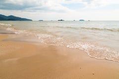 Sandstrand asia Arkivbilder