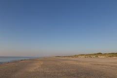 Sandstrand in Jütland, Dänemark Stockbilder