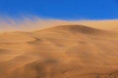 Sandsturm Stockbild