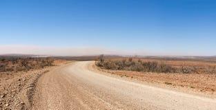 Sandsturm auf dem australischen Hinterland Stockfotografie