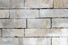 sandtegelstenvägg Arkivbild