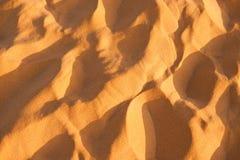 Sandtextur Royaltyfria Bilder