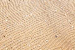 Sandtextur- och bakgrundscloseup royaltyfria bilder