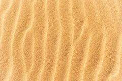 Sandtextur på stranden Royaltyfri Bild