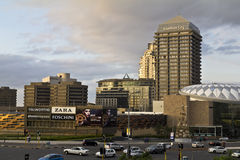 Sandton city center. In johannesburg, south africa