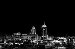 Sandton en la noche Fotos de archivo libres de regalías