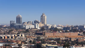 Sandtonhorizon Stock Foto