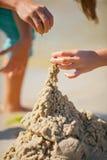 Sandtorn royaltyfri bild