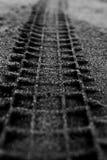 Sandtrack Στοκ φωτογραφίες με δικαίωμα ελεύθερης χρήσης