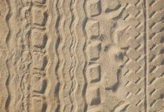 sandtrail Royaltyfri Foto