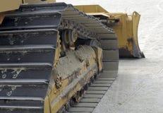 sandtraktor royaltyfri foto