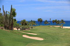 Sandtrap on Palmilla Royalty Free Stock Images