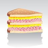 Sanduíche Imagem de Stock Royalty Free