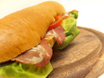 Sanduíche - alimento imagens de stock royalty free