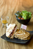 Sanduíche apetitoso delicioso Foto de Stock