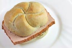 Sanduíche bávaro Foto de Stock Royalty Free