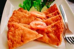 Sanduíche caseiro do camarão Fotografia de Stock Royalty Free