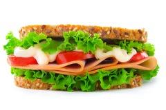 Sanduíche com presunto Fotografia de Stock Royalty Free