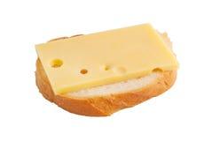Sanduíche com queijo Imagem de Stock