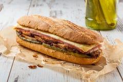 Sanduíche cubano Foto de Stock