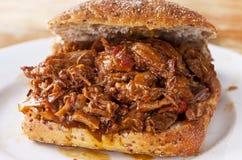 Sanduíche da carne Foto de Stock