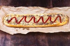 Sanduíche da grade Imagem de Stock Royalty Free