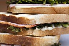 Sanduíche de clube Imagens de Stock