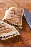 Sanduíche de Panini Fotografia de Stock Royalty Free