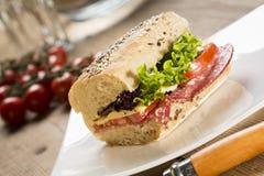 Sanduíche de Panini imagem de stock royalty free